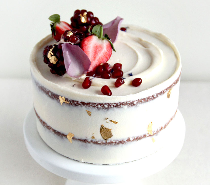 Semi Naked Mini Celebration Cake